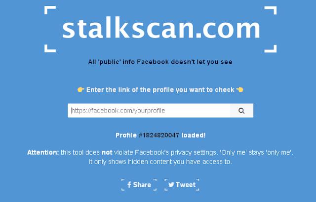مع هذه الأداة الجديدة المخيفة يمكنك الوصول الى بيانات أصدقائك الخفية على فيسبوك بكل سهولة