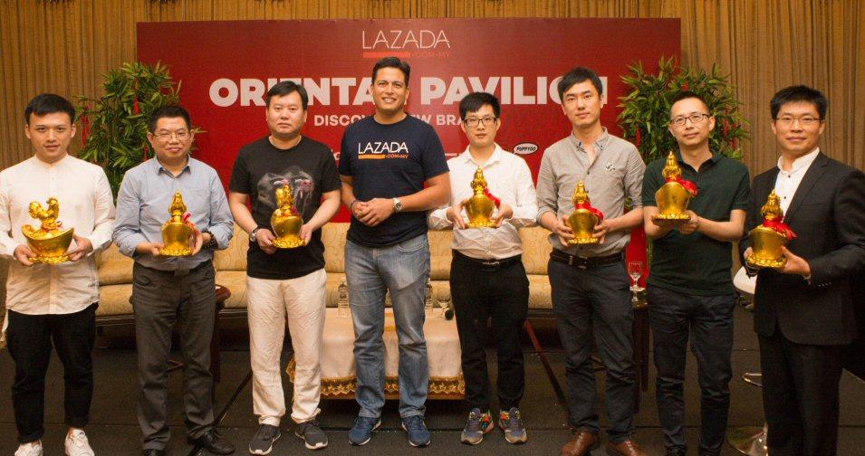 Lazada Oriental Pavilion brand partners