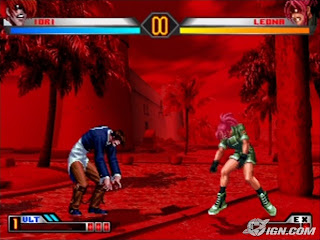 Luta no The king Of Fighters