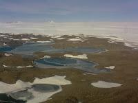 Fotografía del Oasis Schirmacher - Antártida