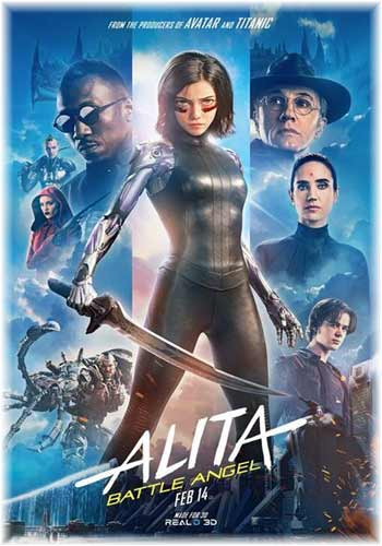Alita Battle Angel 2019 Dual Audio Hindi Dubbed 720p HDRip ESub