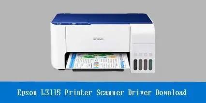 Epson EcoTank L3115 Printer Scanner Driver Software Download