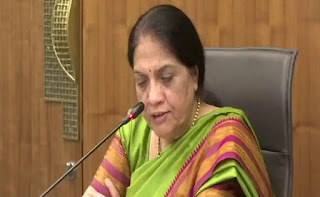 Breaking: Neelam Sahni's tenure extended ...   AP CS Nilam Sawhney: The government has issued orders extending the tenure of AP CS Nilam Sawh for another three months.  Neelam is due to retire on September 30. His tenure has been extended once again.  Sahni will continue as CS till December 31 with the latest orders.