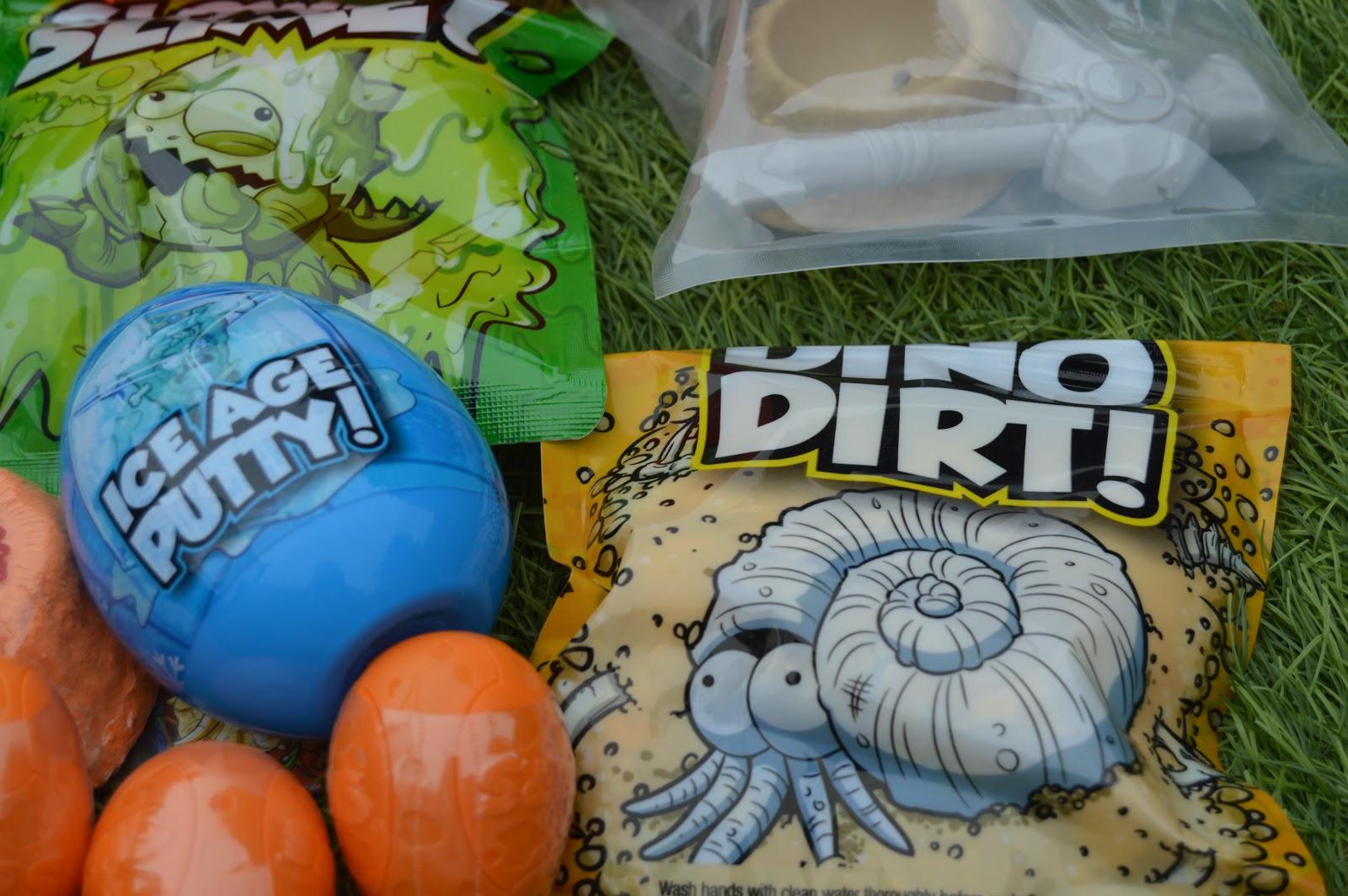Inside Smashers Dino Egg