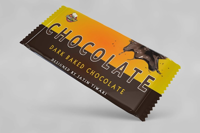 FREE Chocolate Packet Design PSD DOWNLOAD