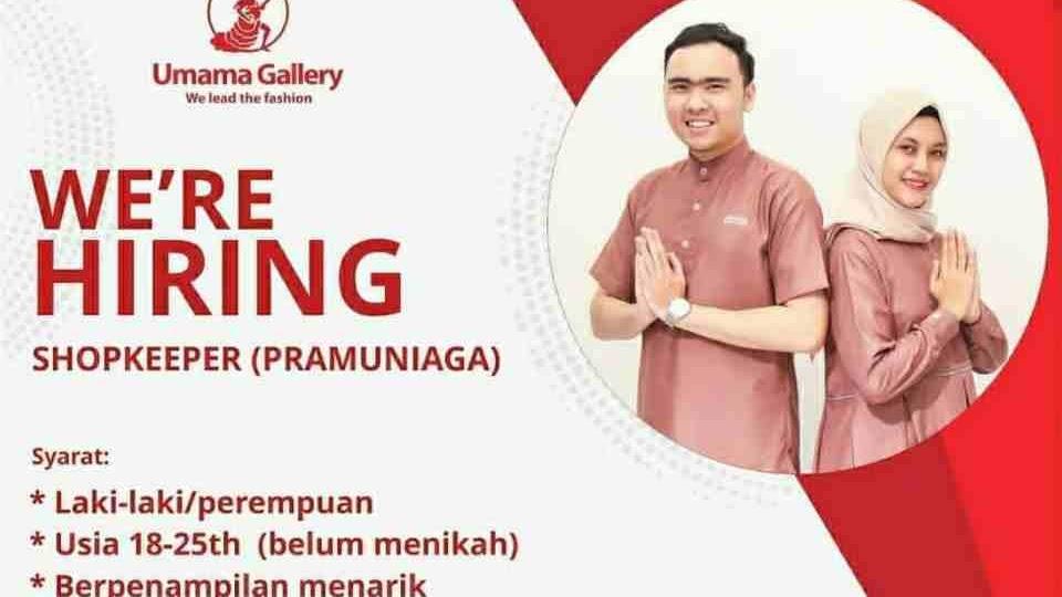 Lowongan Loker Sma Smk Umama Gallery Subang 2021