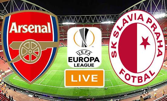 Match Arsenal vs Slavia Prague Live Stream In Ligue Europa