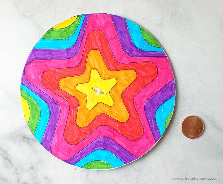 DIY Paper Spinners
