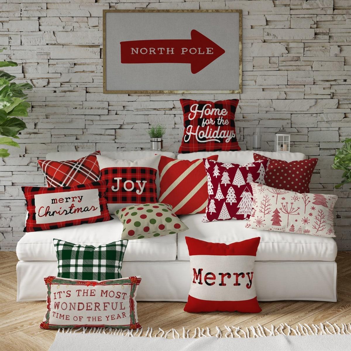 Christmas Classics Pillow Covers