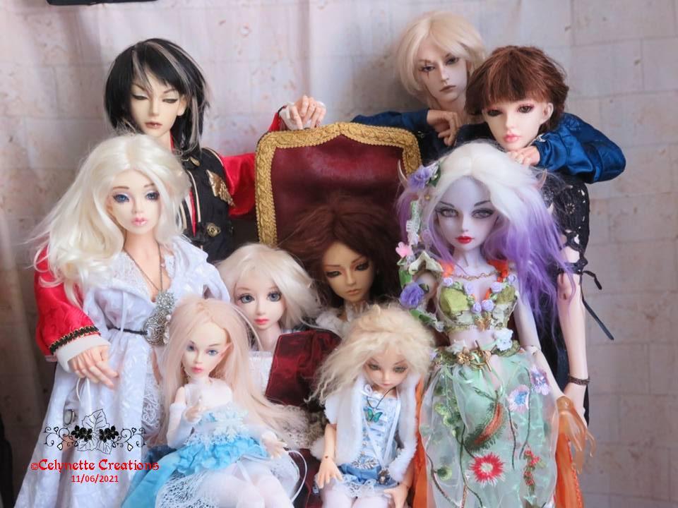 Fairie Team2-Ts en Hanfu / in 2 wood / queen & Tora / family Diapositive9