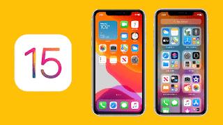 تحديث آبل آي أو إس iOS 15  طريقة تحديث الايفون iPhone تلقائيًا الى آي أو إس iOS 15  مميزات تحديث آبل آي أو إس iOS 15