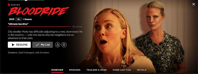 Bloodride Netflix