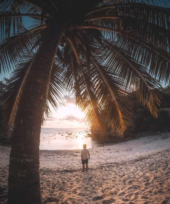 Fasilitas Wisata di Pantai Ngliyep