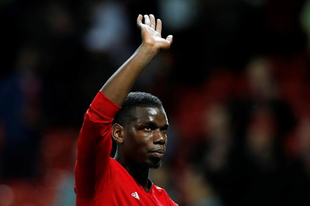 Injury deprives Manchester United of Paul Pogba for several weeks