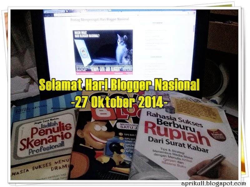 Alasan sederhana, Kenapa saya jadi Blogger.