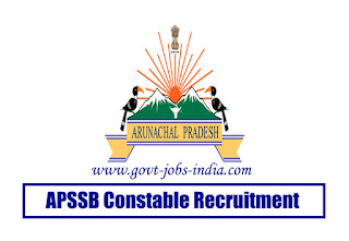 APSSB Constable Recruitment 2020