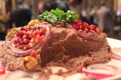 red bean salad from Azerbaijan