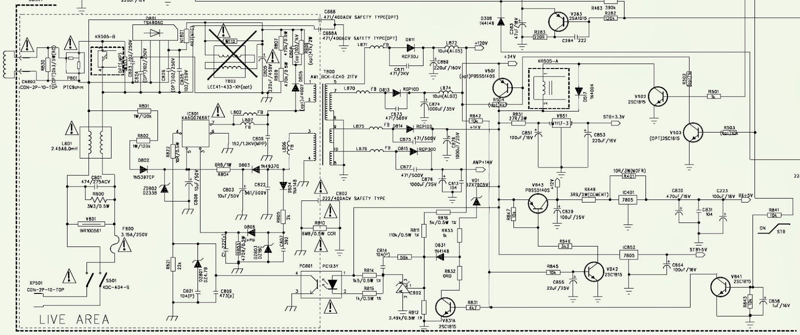 NORDMENDE N2121  VIDEOCON N2121  SCHEMATIC [Circuit