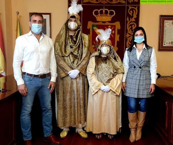 Los pajes de Sus Majestades los Reyes Magos de Oriente visitan  los centros educativos de San Andrés y Sauces