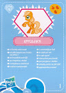 My Little Pony Wave 4 Applejack Blind Bag Card