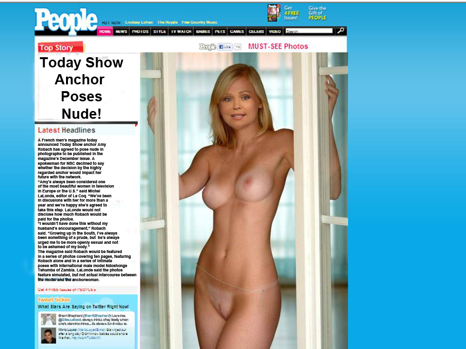 Amy robach nude photos