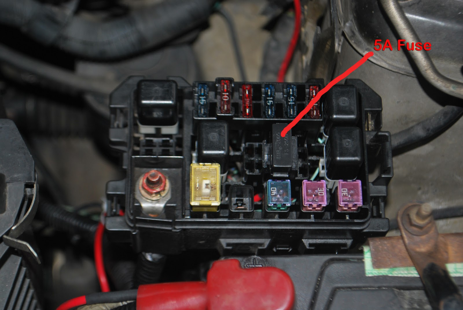 Daihatsu Yrv Fuse Box Location - Wiring images on