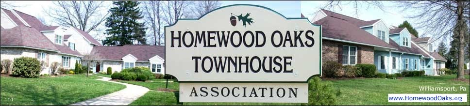 Homewood Oaks Townhouse Association, Williamsport Pa