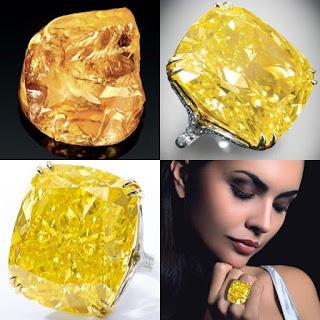 Kim cương màu vàng
