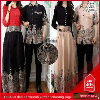GMS323 AJNBJ324B60 Baju Batik Couple Set Keluarga Dropship SK1664859429