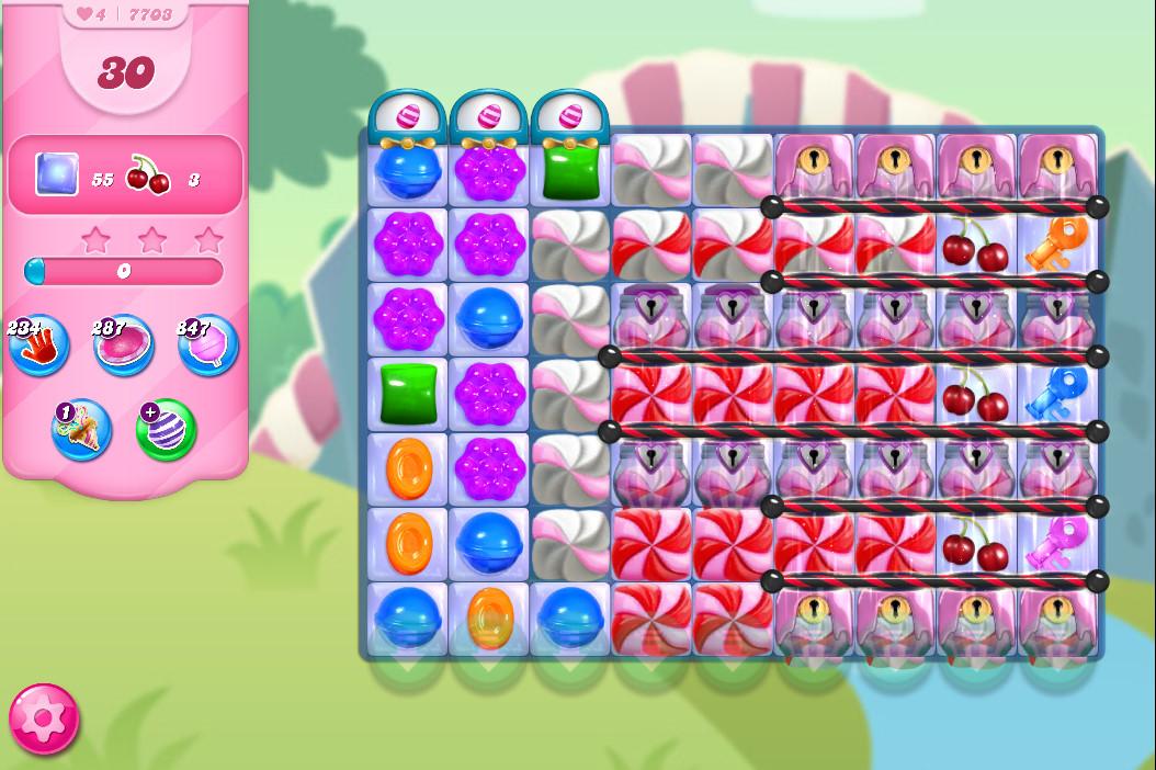 Candy Crush Saga level 7703