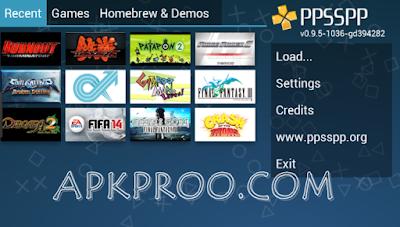 Download Emulator PPSSPP Gold Apk Full Version