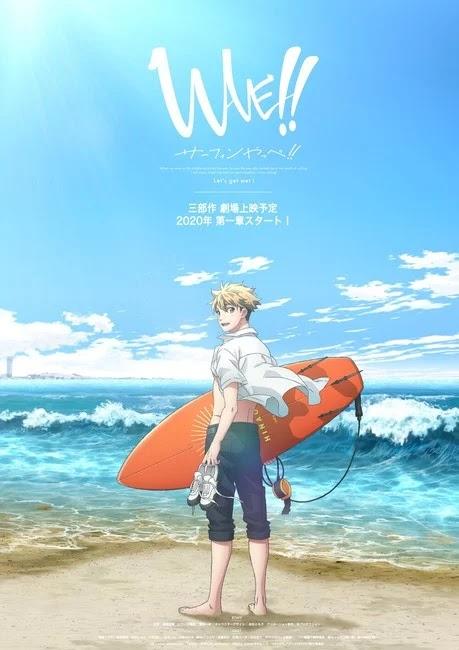 WAVE!! serán tres películas anime.