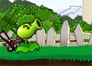 juego Peashooter vs Zombies