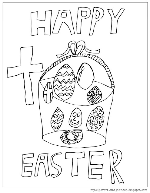 My Cup Overflows: Happy Easter