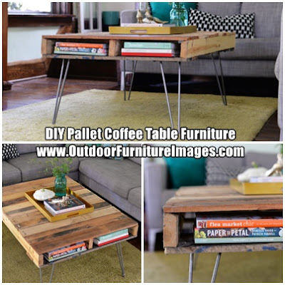 DIY Pallet Coffee Table Furniture