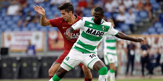 L'homme du match AS Roma vs. Sassuolo: Lorenzo Pellegrini