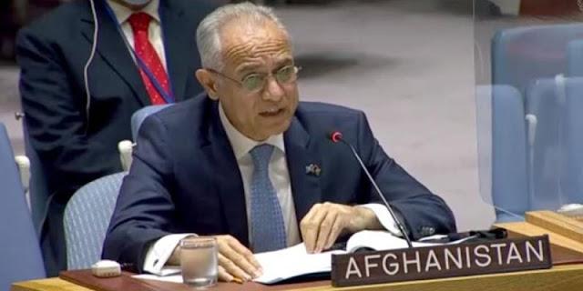 Dubes Afghanistan untuk PBB Ghulam Isaczai Desak Dunia Internasional Tak Akui Pemerintahan Taliban