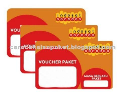 Cara Cek Voucher Indosat Sudah Terpakai Atau Belum Digunakan Cara Cek Sisa Paket