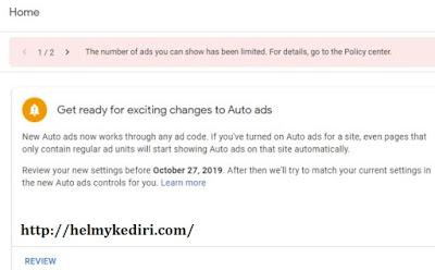 mengatasi iklan google adsense yang dilimit