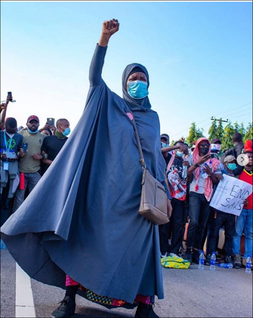 Celebrating Nigerian Woman Aisha Yesufu And All Those Who Died To #EndSARS