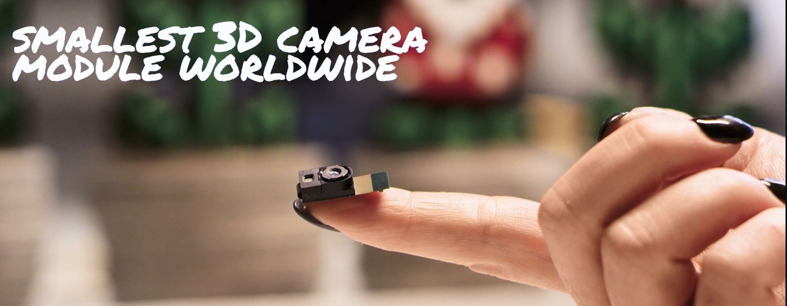 Image Sensors World: PMD Presents World's Smallest 3D Camera