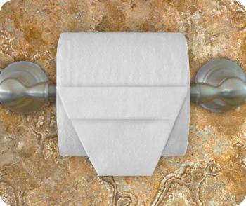 """Оригами """"Корзинка"""" из туалетной бумаги"""