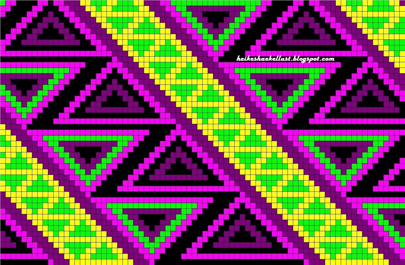 Heikeshäkellust: Muster Wayuu Mochila Bag