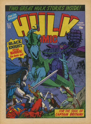 Hulk Comic #22, the Black Knight