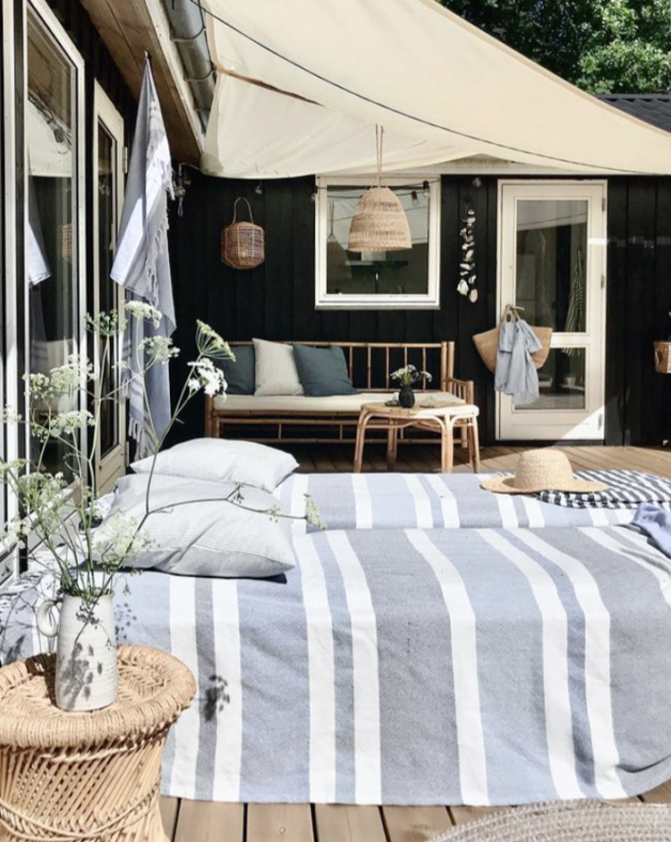 A Charming Danish Summer Cottage With a Coastal Vibe