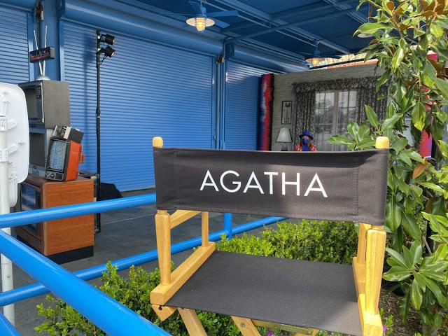 Agatha Harkness 導演椅 登陸 Marvel Studios WandaVision主題拍照點