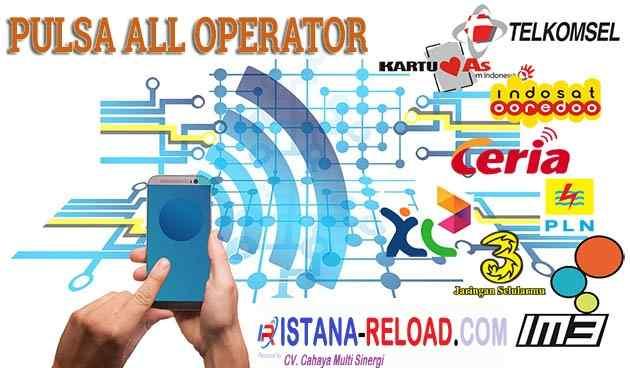 Cara Mudah Memulai Bisnis Pulsa All Operator Termurah di Istana Reload