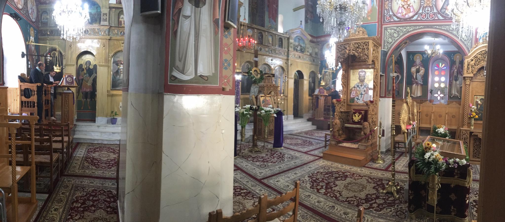 Το Θείο Δράμα κορυφώνεται με τα Πάθη του Χριστού στις άδειες εκκλησίες στην περιοχή Αλιβερίου