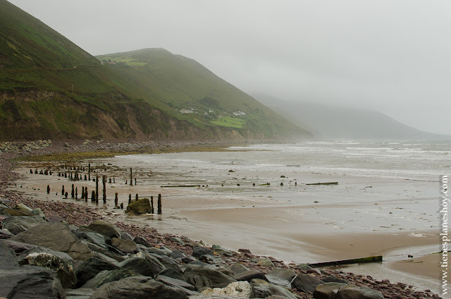 Playa Rossbeigh Anillo de Kerry Irlanda