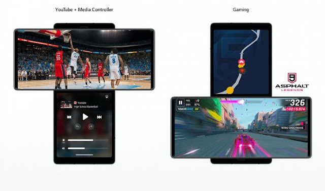 سعر ومواصفات هاتف LG Wing الخارق مع شاشتين ومميزات قوية